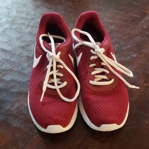 Women's burgundy Nike size 8